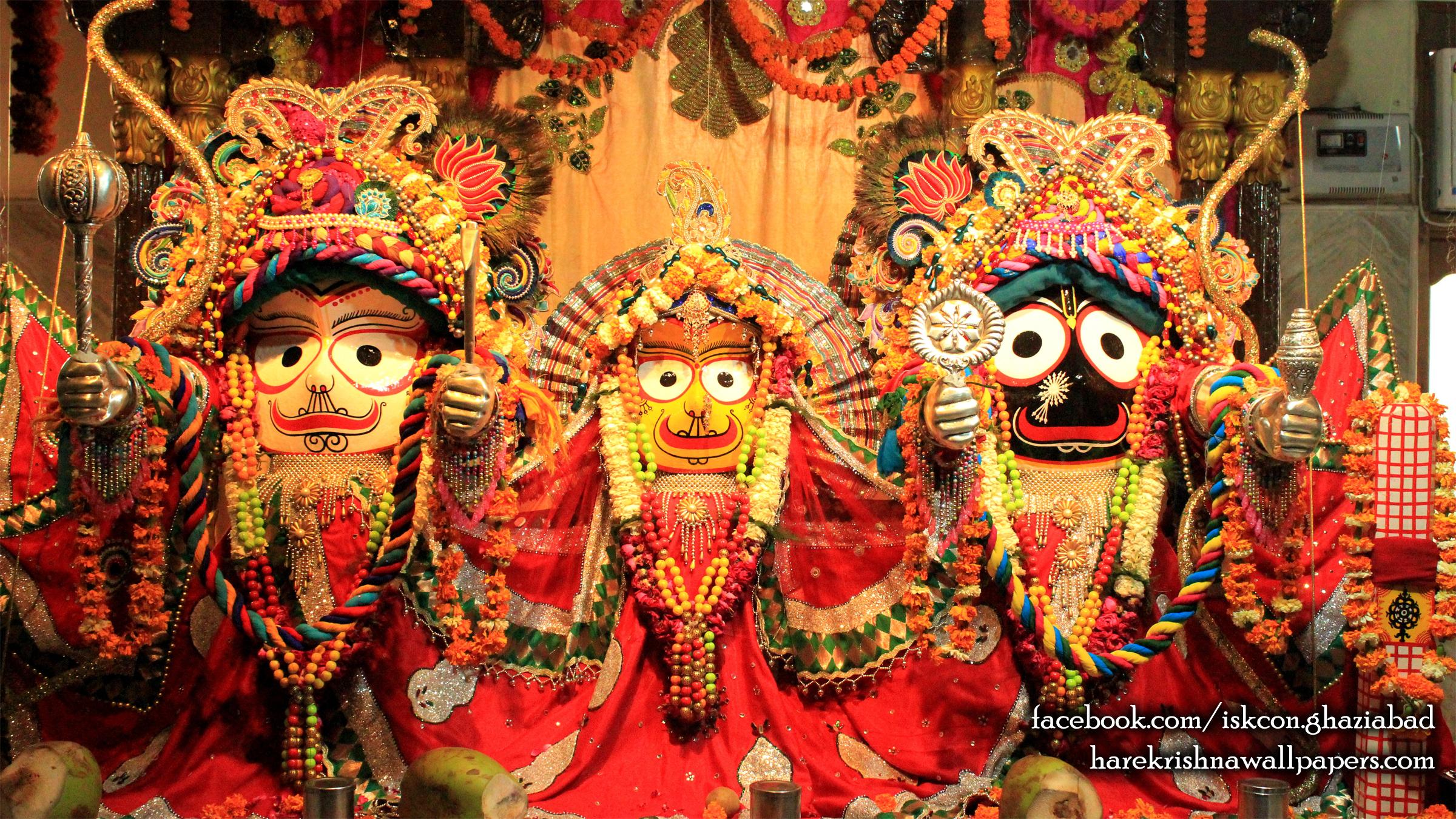 Jagannath Baladeva Subhadra Wallpaper (006) Size 2400x1350 Download