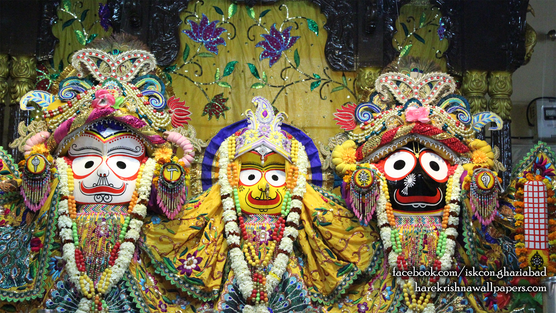 Jagannath Baladeva Subhadra Wallpaper (007) Size 1920x1080 Download