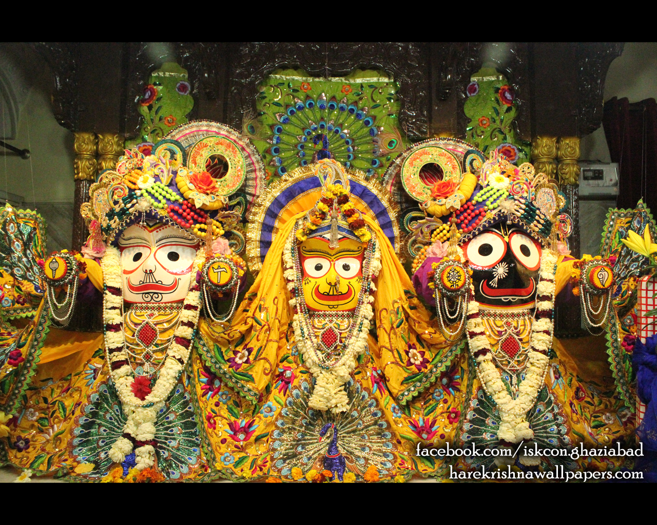 Jagannath Baladeva Subhadra Wallpaper (008) Size 1280x1024 Download