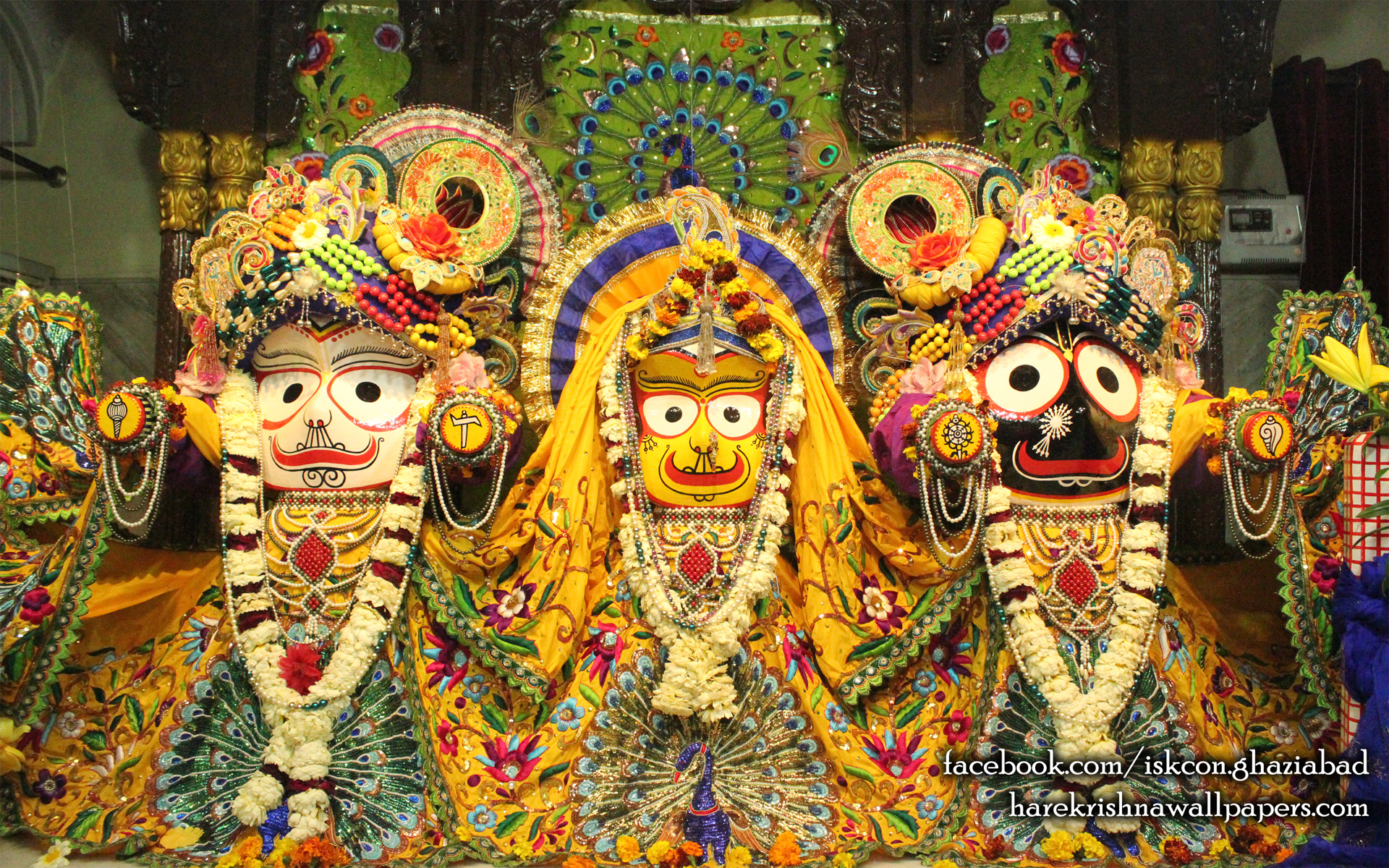 Jagannath Baladeva Subhadra Wallpaper (008) Size 1920x1200 Download