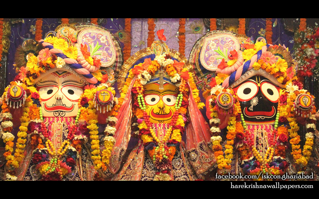 Jagannath Baladeva Subhadra Wallpaper (009) Size 1280x800 Download