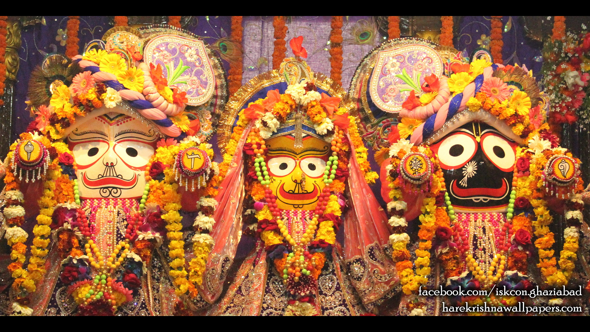 Jagannath Baladeva Subhadra Wallpaper (009) Size 1920x1080 Download