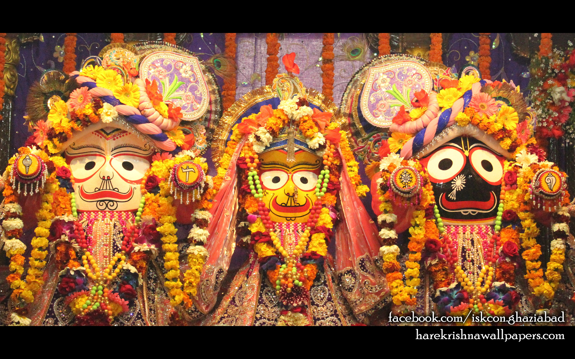 Jagannath Baladeva Subhadra Wallpaper (009) Size 1920x1200 Download