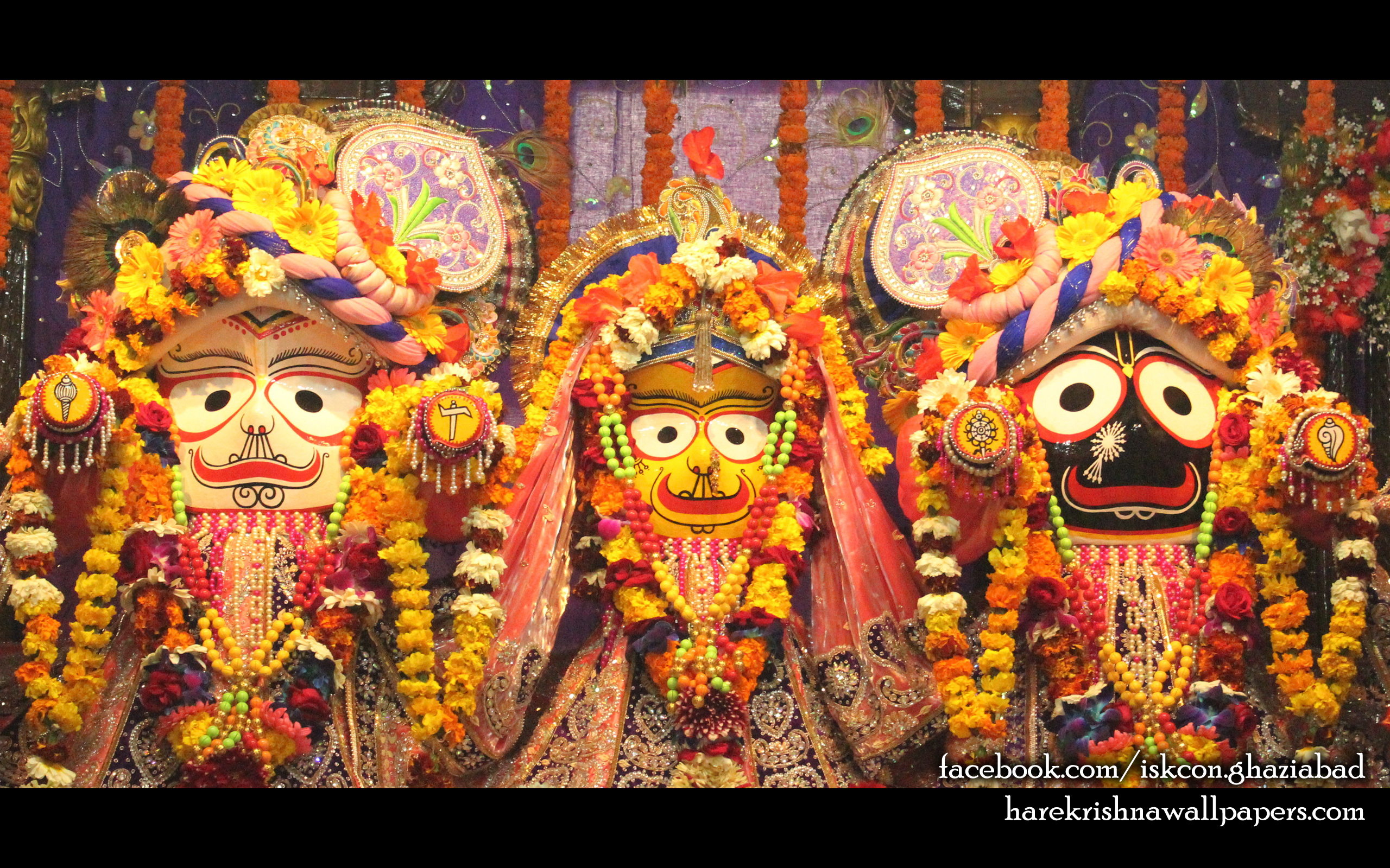 Jagannath Baladeva Subhadra Wallpaper (009) Size 2560x1600 Download