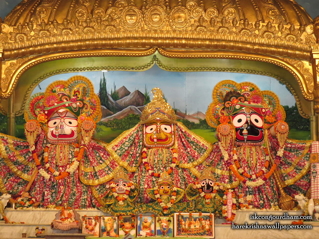 Jagannath Baladeva Subhadra Wallpaper (001) Size 1280x960 Download
