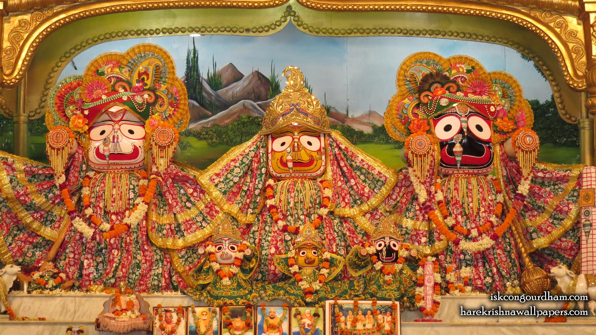 Jagannath Baladeva Subhadra Wallpaper (001) Size 1920x1080 Download