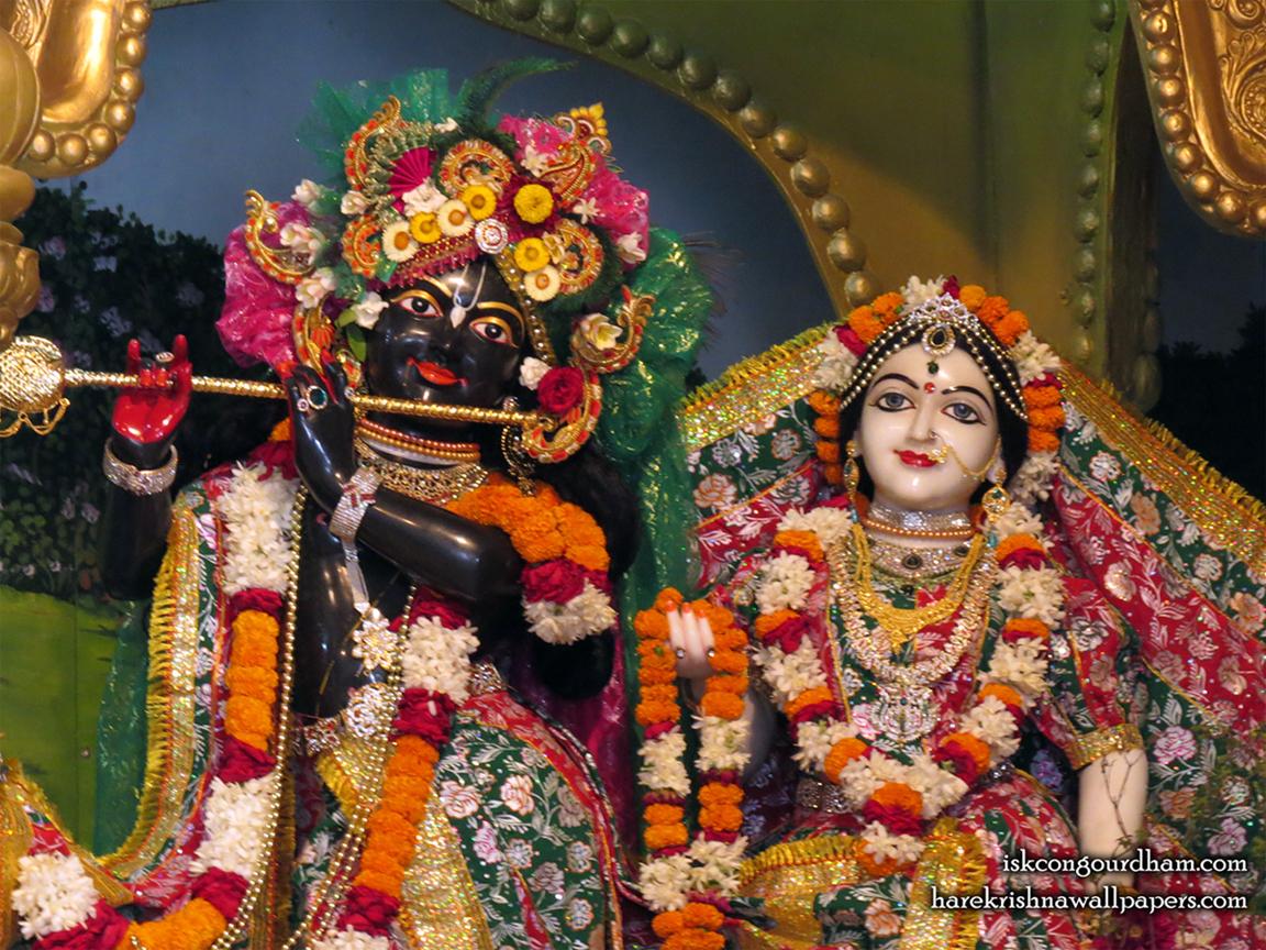 Sri Sri Radha Madhava Close up Wallpaper (001) Size 1152x864 Download