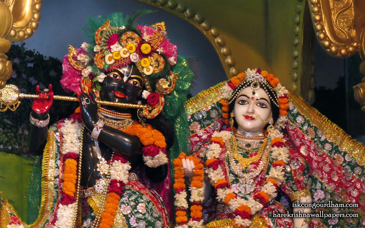 Sri Sri Radha Madhava Close up Wallpaper (001) Size 1280x800 Download