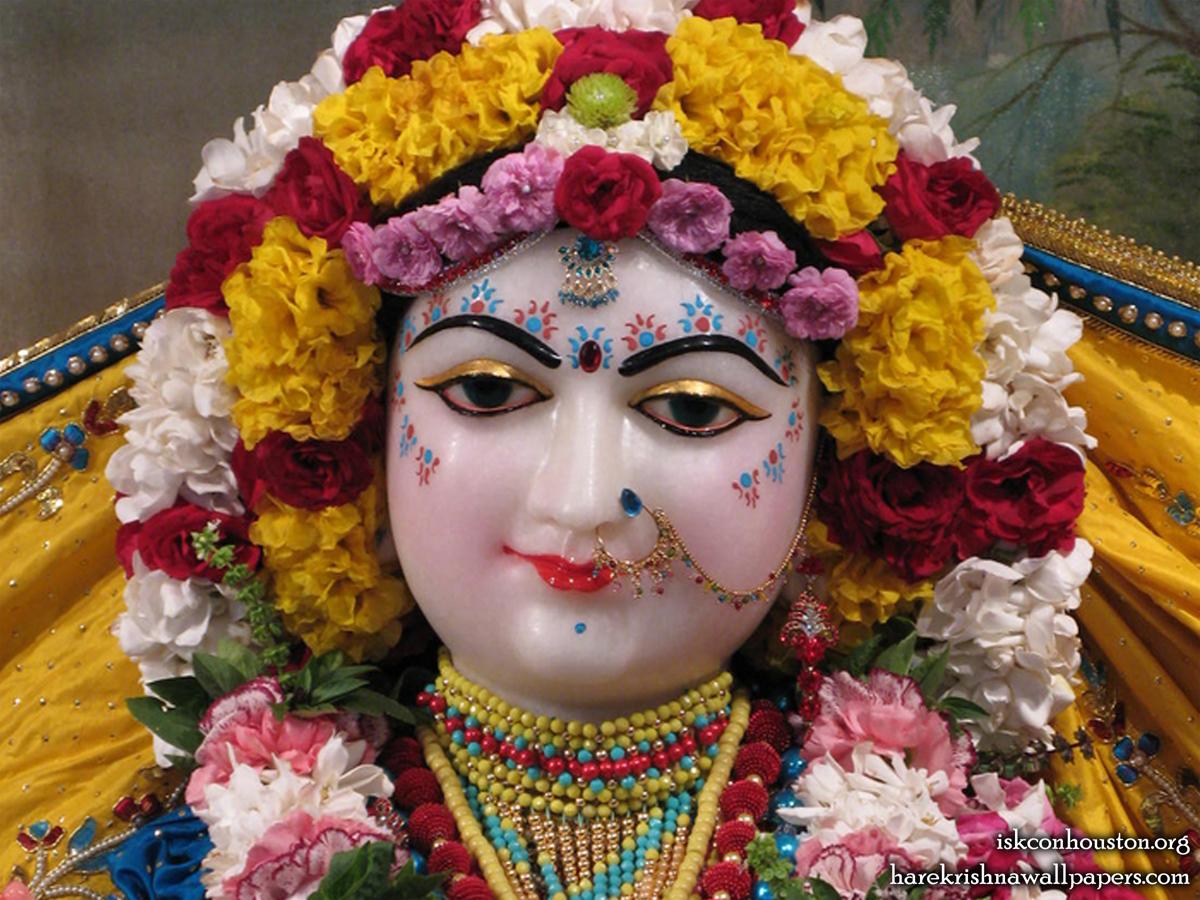 Sri Radha Close up Wallpaper (002) Size1200x900 Download