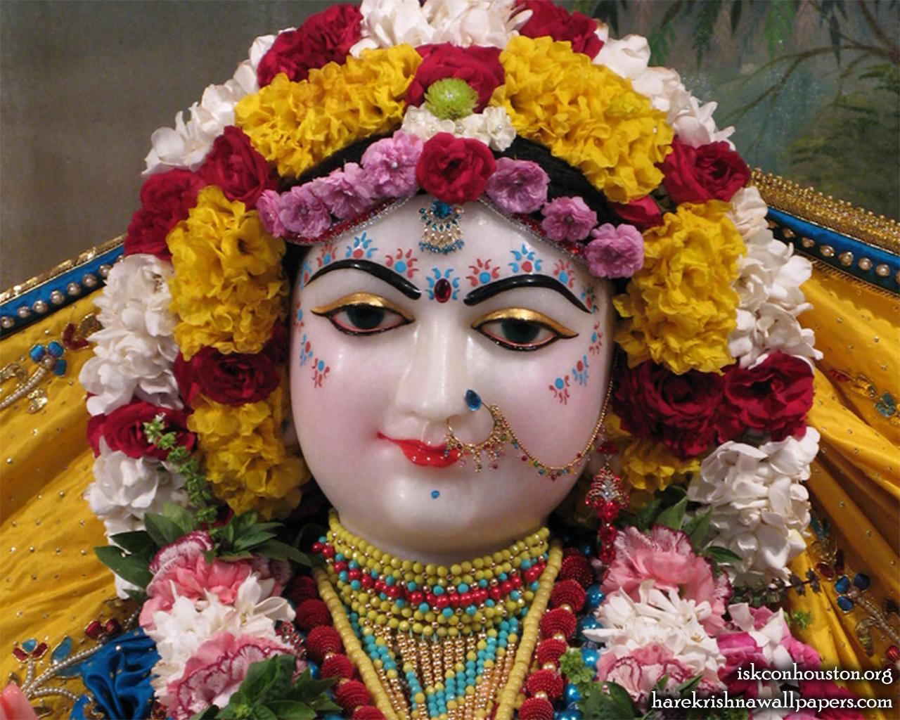 Sri Radha Close up Wallpaper (002) Size 1280x1024 Download