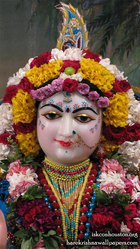 Sri Radha Close up Wallpaper (002) Size 450x800 Download