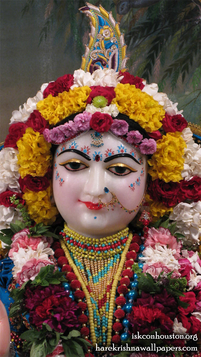 Sri Radha Close up Wallpaper (002) Size 675x1200 Download