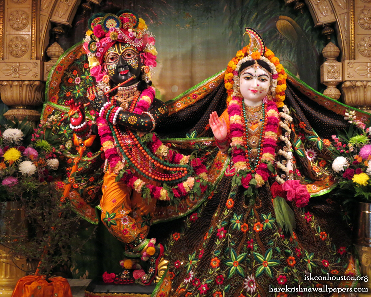 Sri Sri Radha Nilamadhava Wallpaper (007) Size 1280x1024 Download