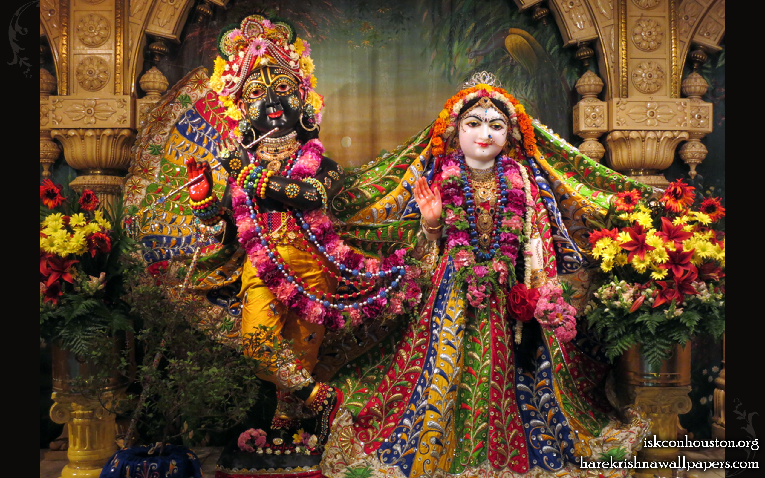 Sri Sri Radha Nilamadhava Wallpaper (010) Size 2560x1600 Download