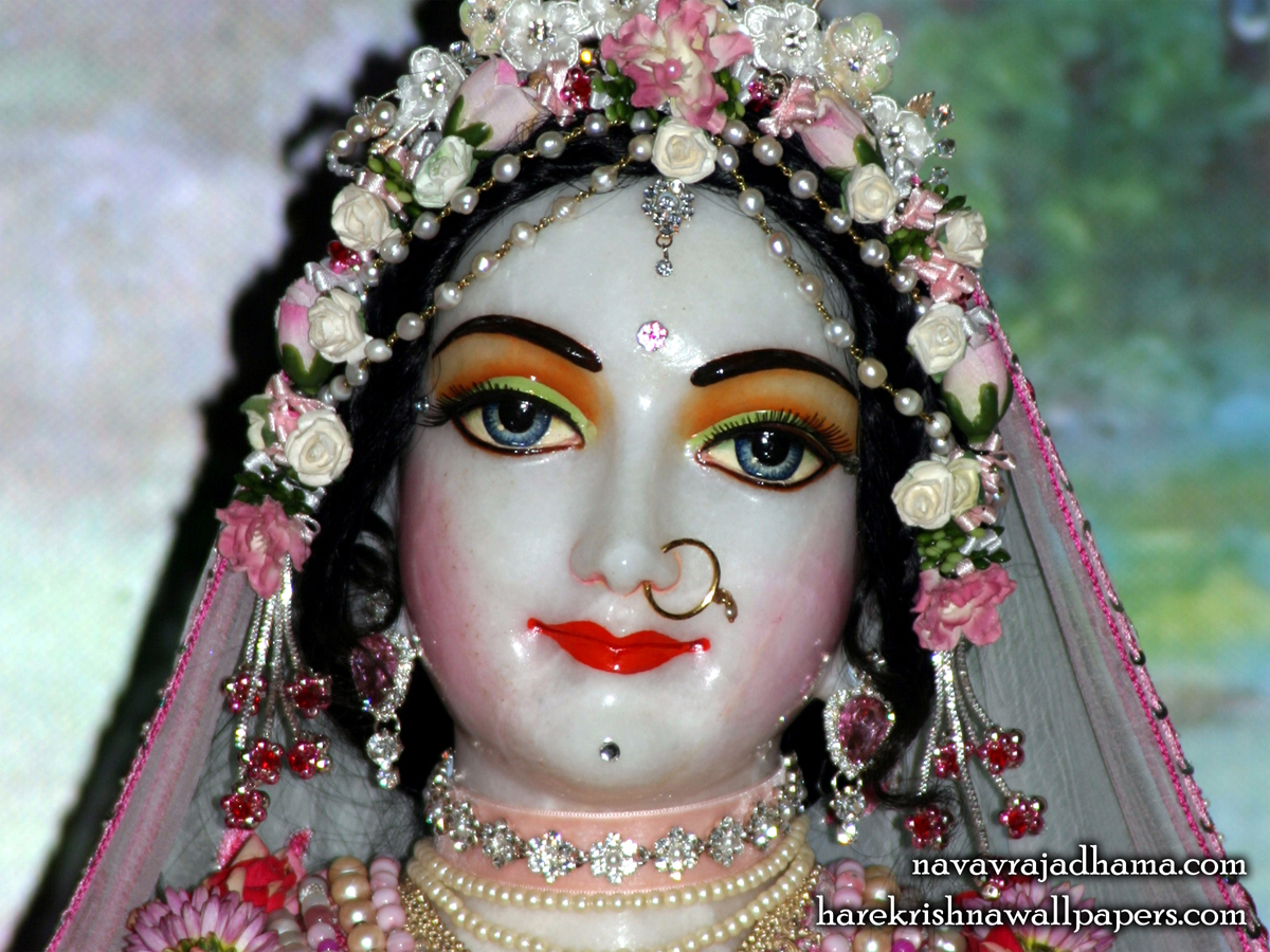 Sri Radha Close up Wallpaper (003) Size1200x900 Download