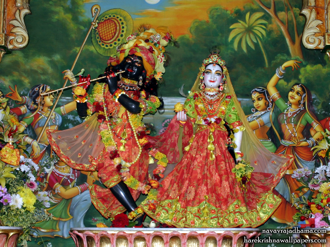 Sri Sri Radha Shyamsundar Wallpaper (003) Size 1152x864 Download