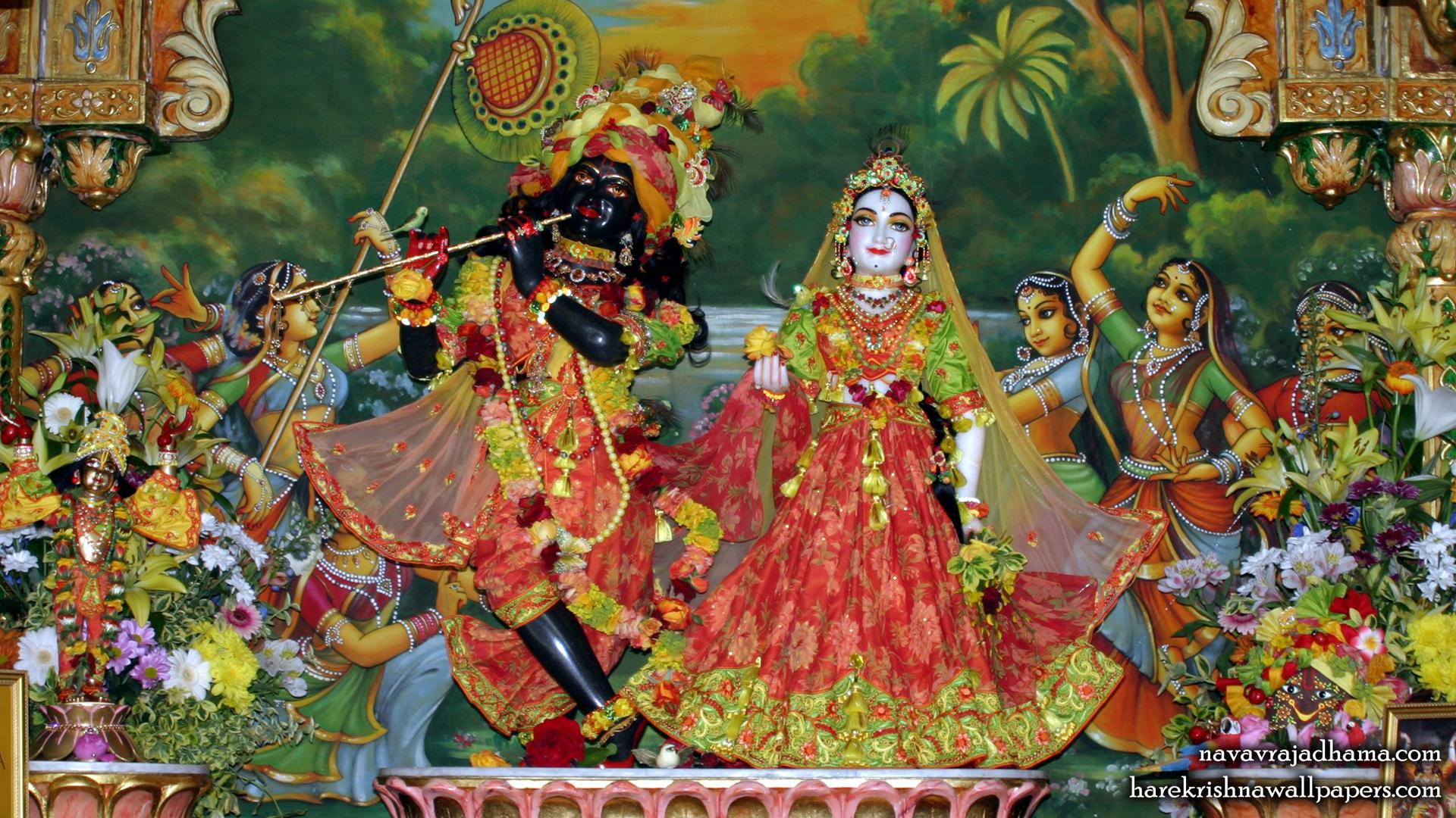 Sri Sri Radha Shyamsundar Wallpaper (003) Size 1920x1080 Download