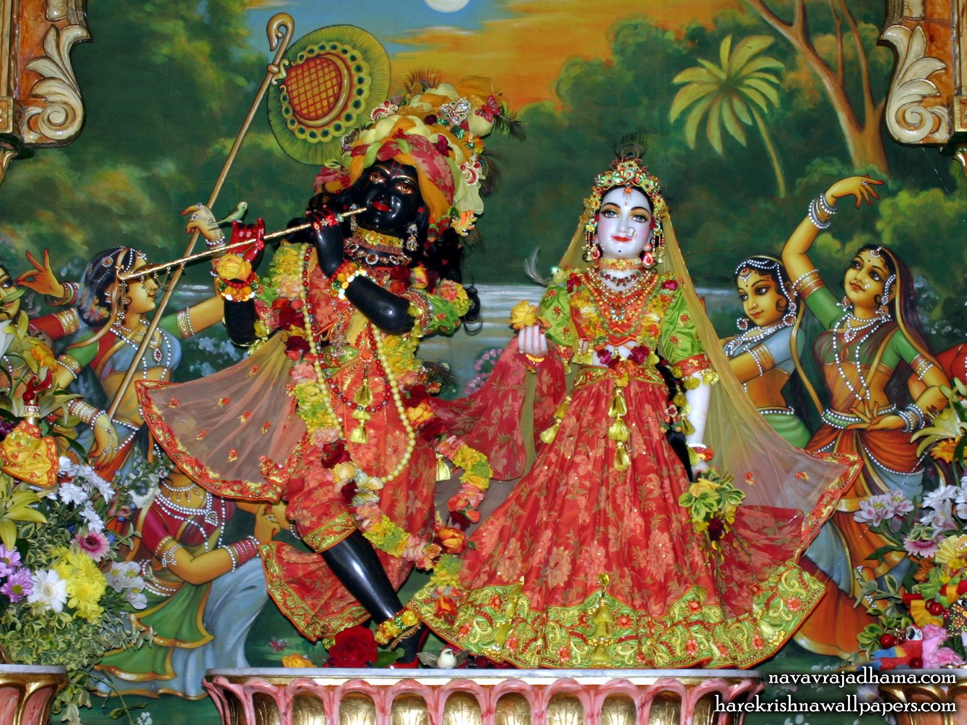 Sri Sri Radha Shyamsundar Wallpaper (003) Size 1920x1440 Download