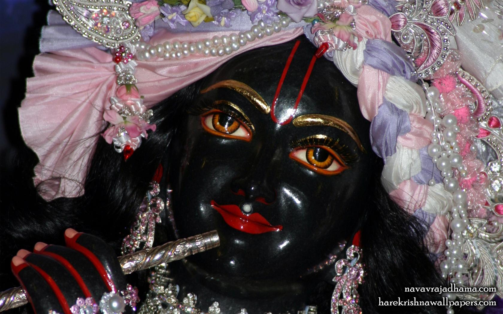 Sri Shyamsundar Close up Wallpaper (008) Size 1680x1050 Download