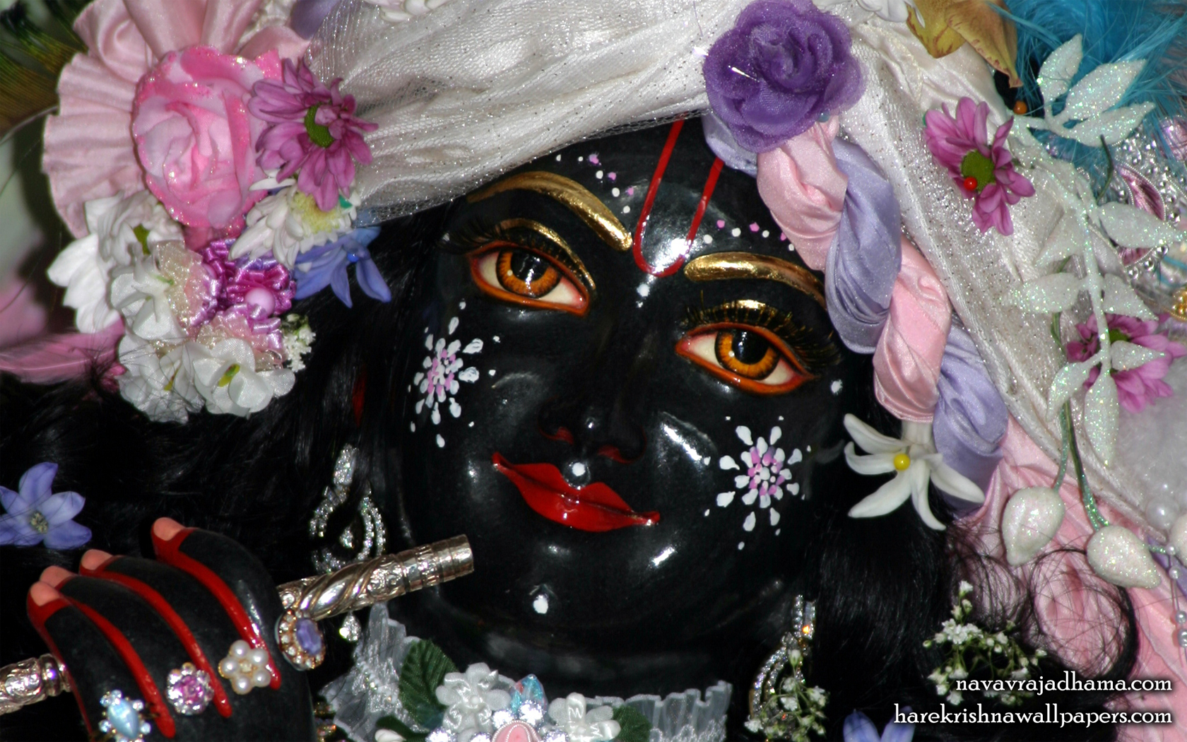 Sri Shyamsundar Close up Wallpaper (010) Size 1680x1050 Download
