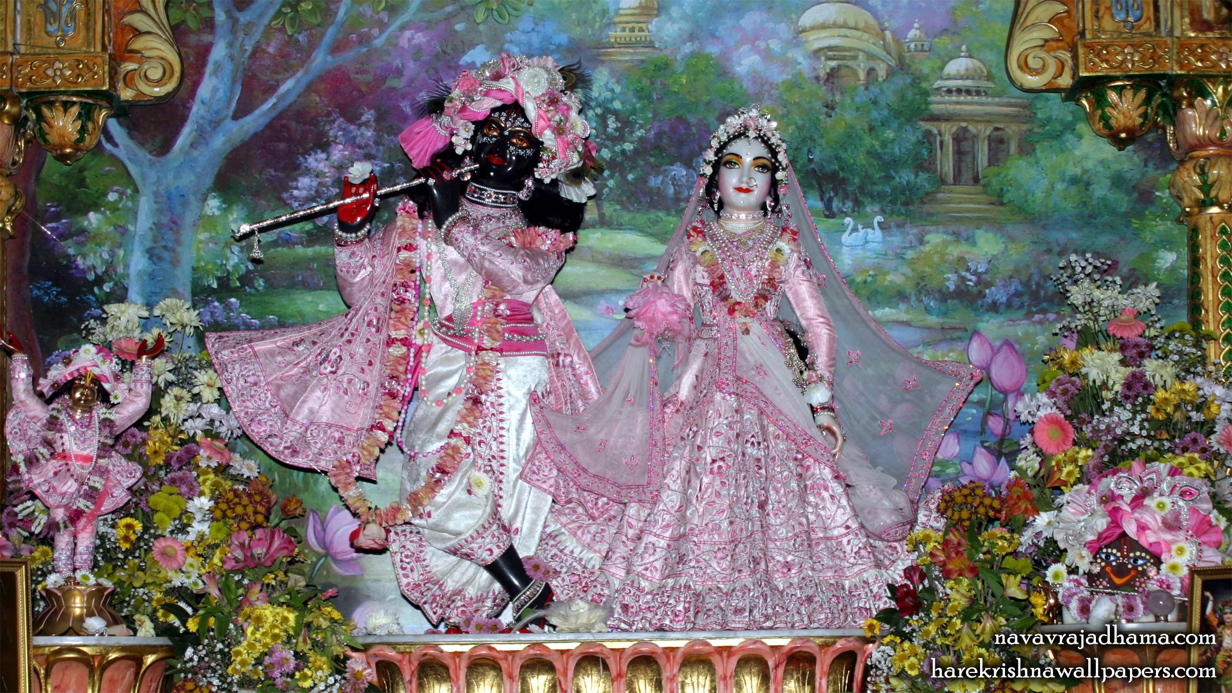 Sri Sri Radha Shyamsundar Wallpaper (011) Size 2400x1350 Download
