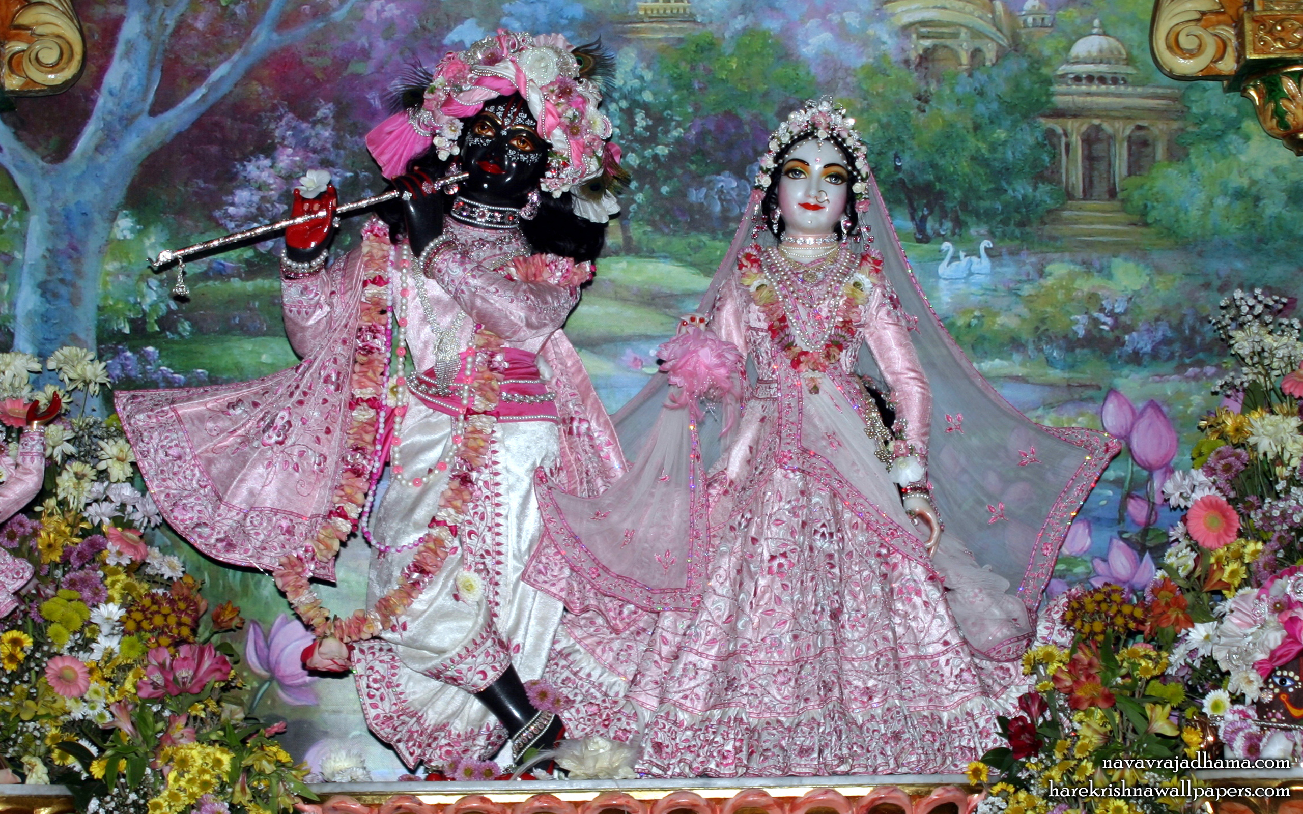 Sri Sri Radha Shyamsundar Wallpaper (011) Size 2560x1600 Download