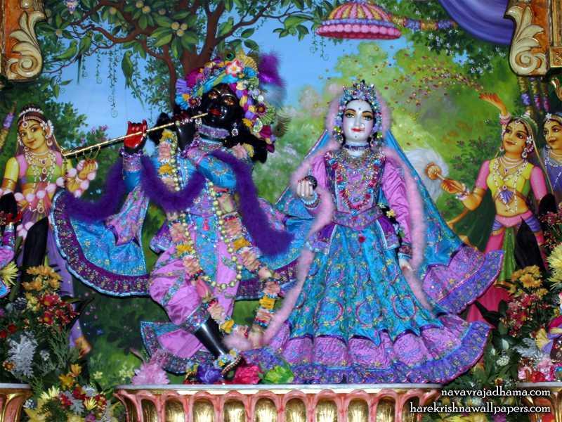 Sri Sri Radha Shyamsundar Wallpaper (021)
