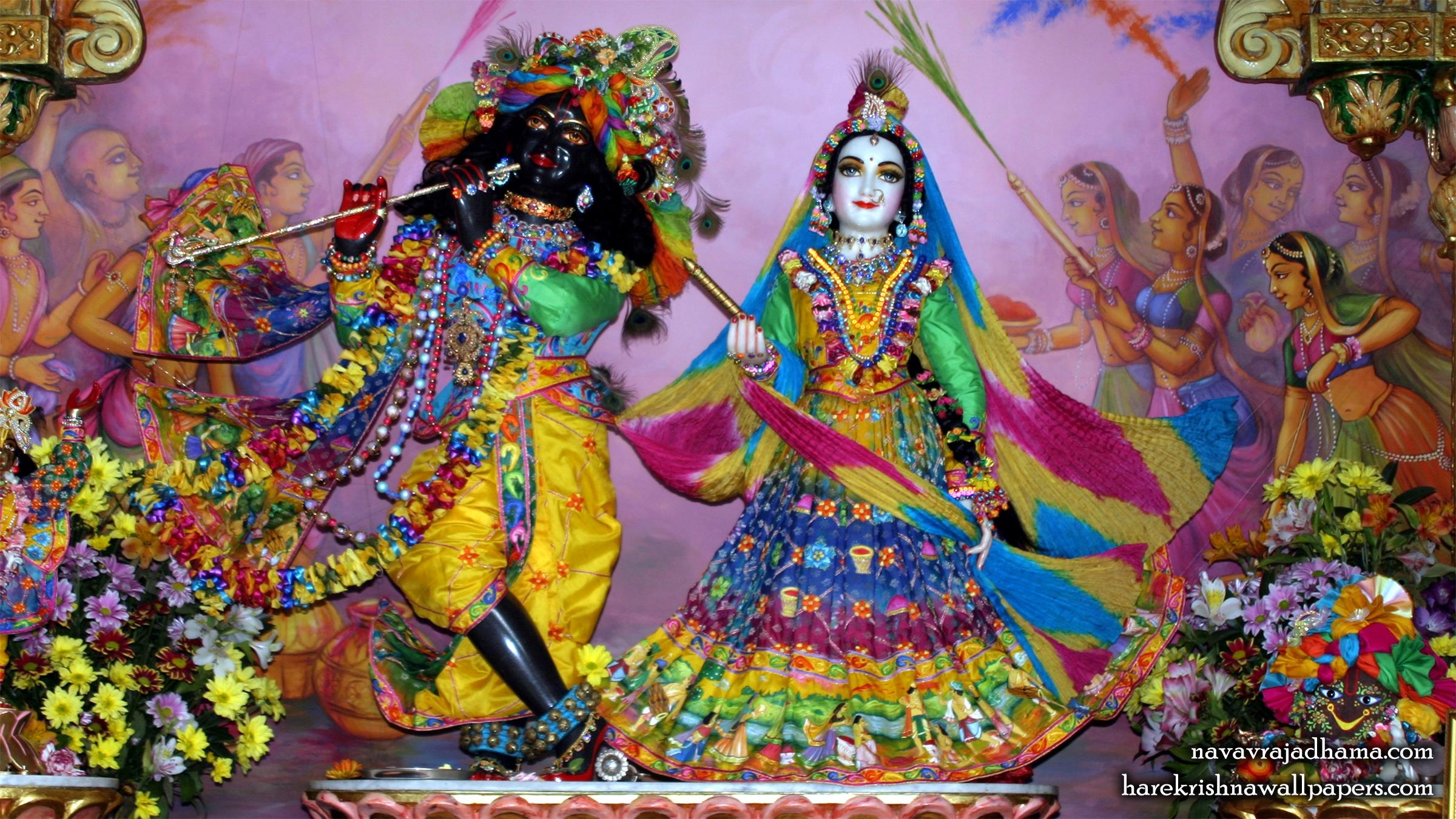 Sri Sri Radha Shyamsundar Wallpaper (026) Size 2400x1350 Download
