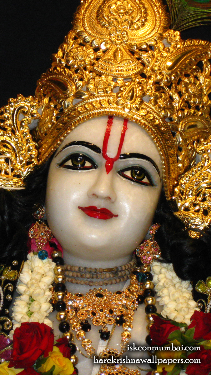 Sri Gauranga Face Wallpaper (001) Size 675x1200 Download
