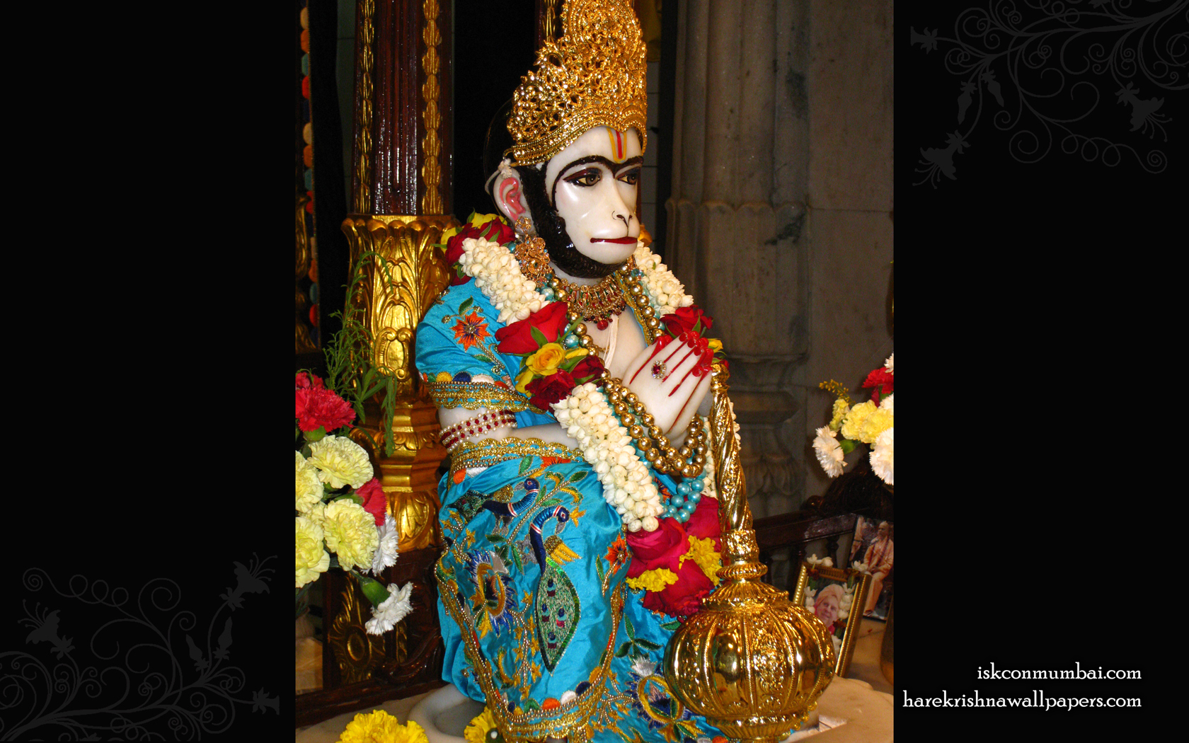 Sri Hanuman Wallpaper (001) Size 1680x1050 Download