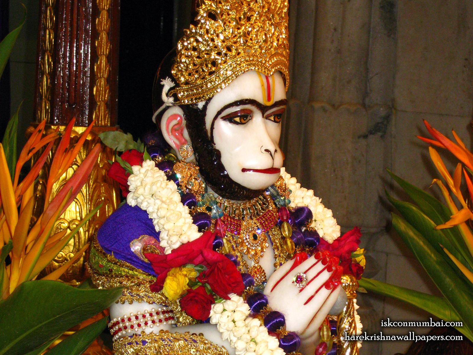 Sri Hanuman Face Wallpaper (001) Size1600x1200 Download