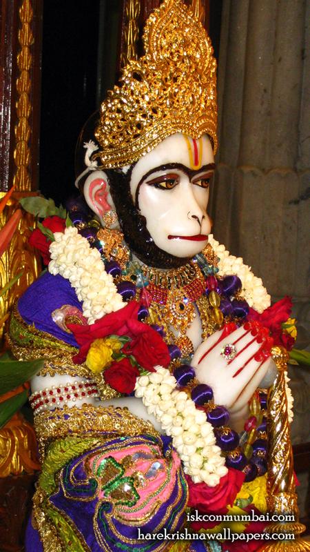 Sri Hanuman Face Wallpaper (001) Size 450x800 Download