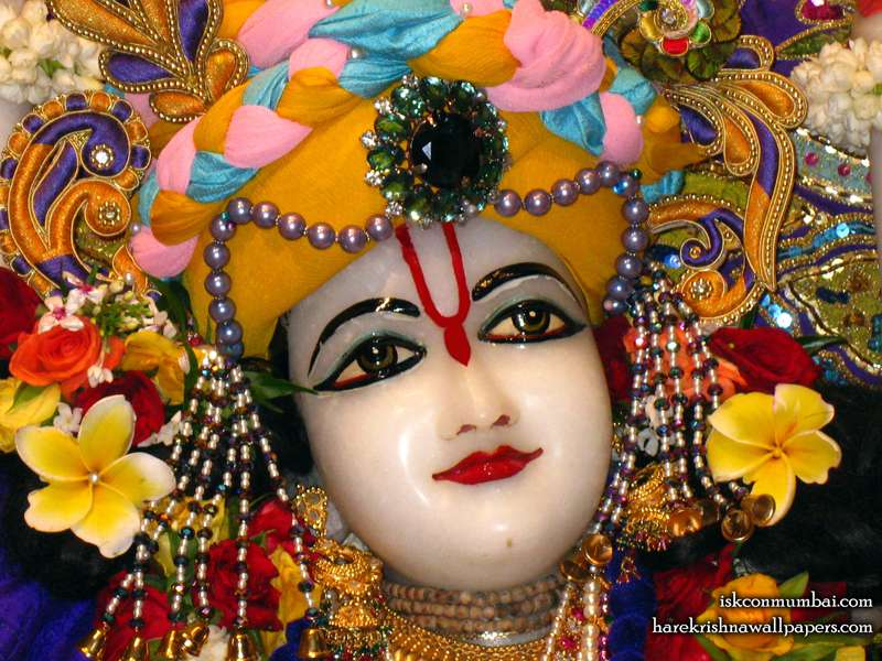 Sri Nitai Face Wallpaper (001)