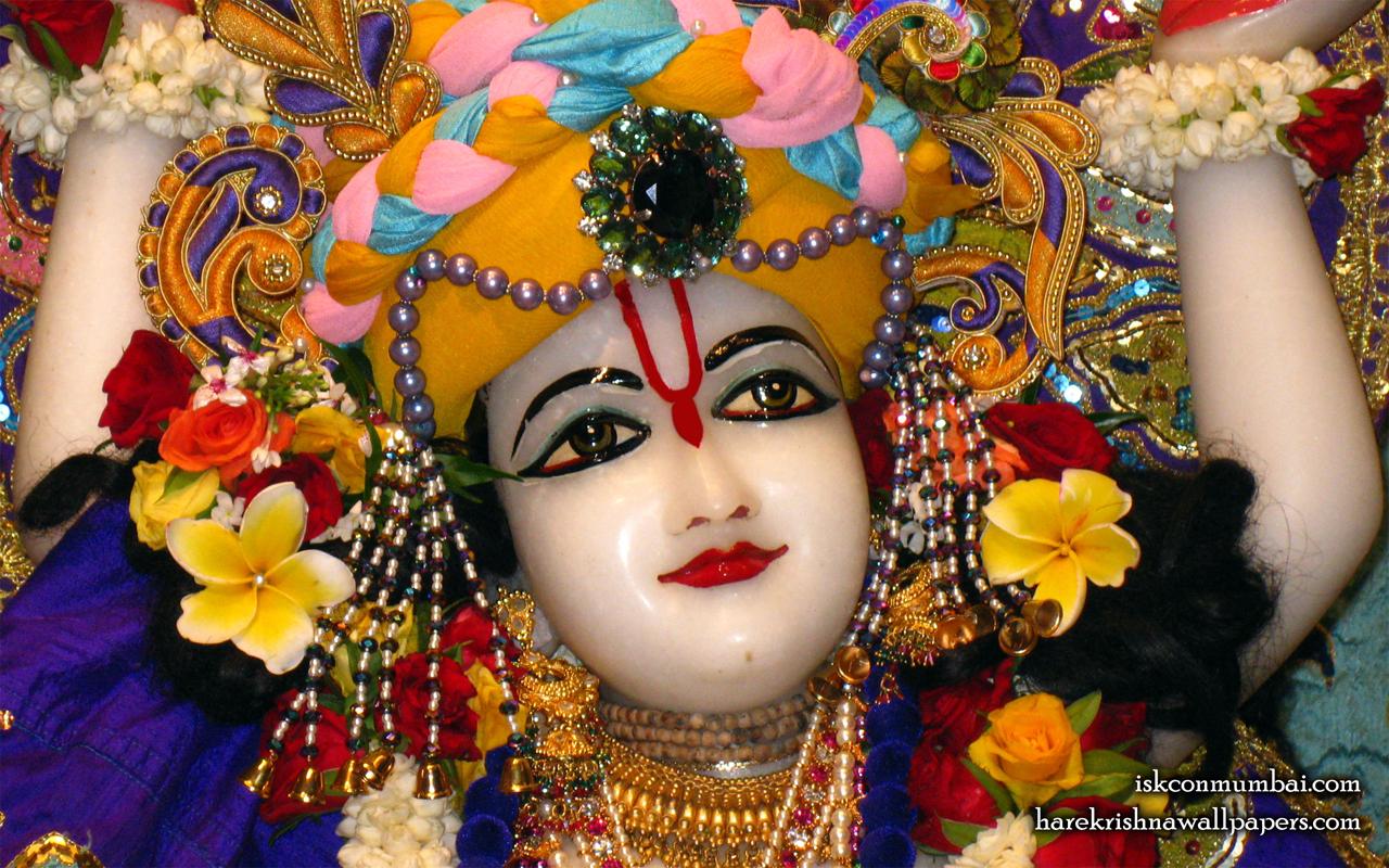 Sri Nitai Face Wallpaper (001) Size 1280x800 Download