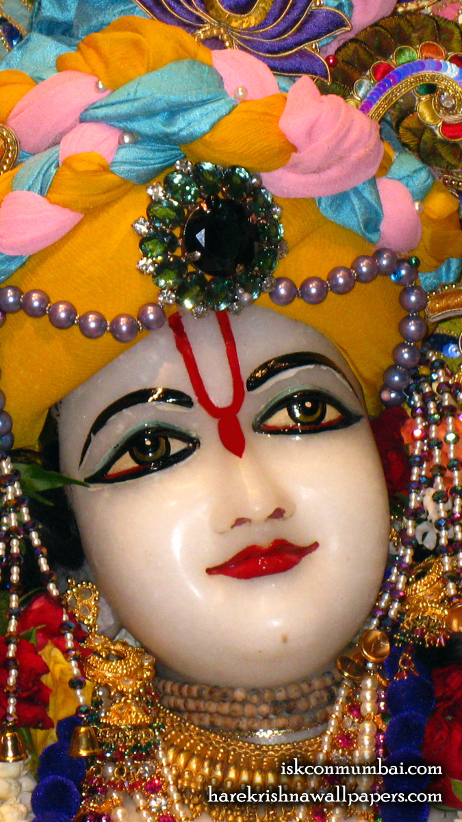 Sri Nitai Face Wallpaper (001) Size 675x1200 Download