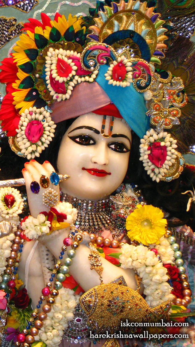 Sri Rasabihari Face Wallpaper (001) Size 675x1200 Download
