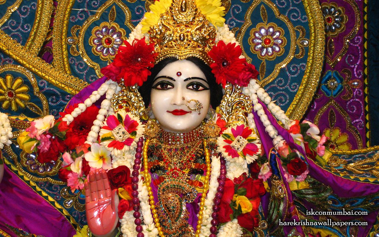 Sri Sita Close up Wallpaper (001) Size 1280x800 Download