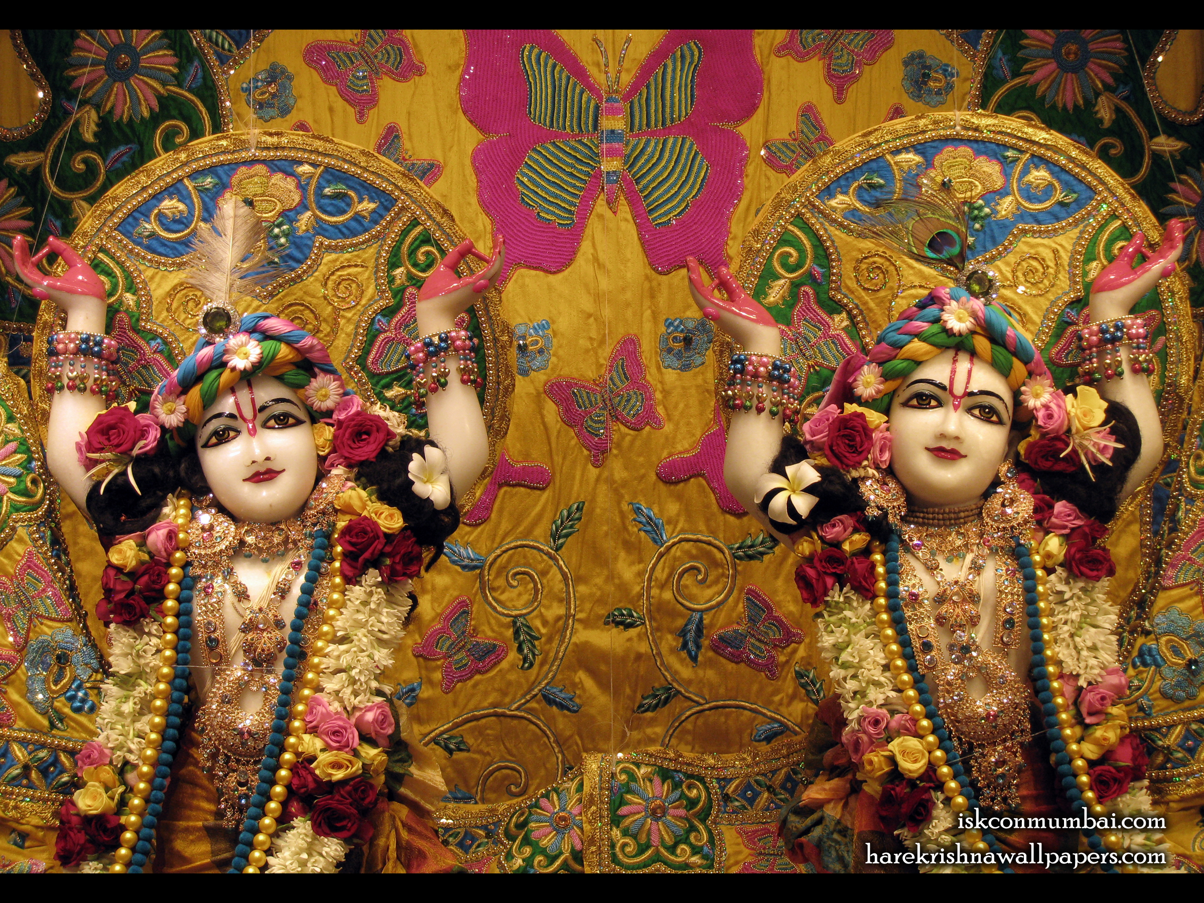 Sri Sri Gaura Nitai Close up Wallpaper (001) Size 2400x1800 Download