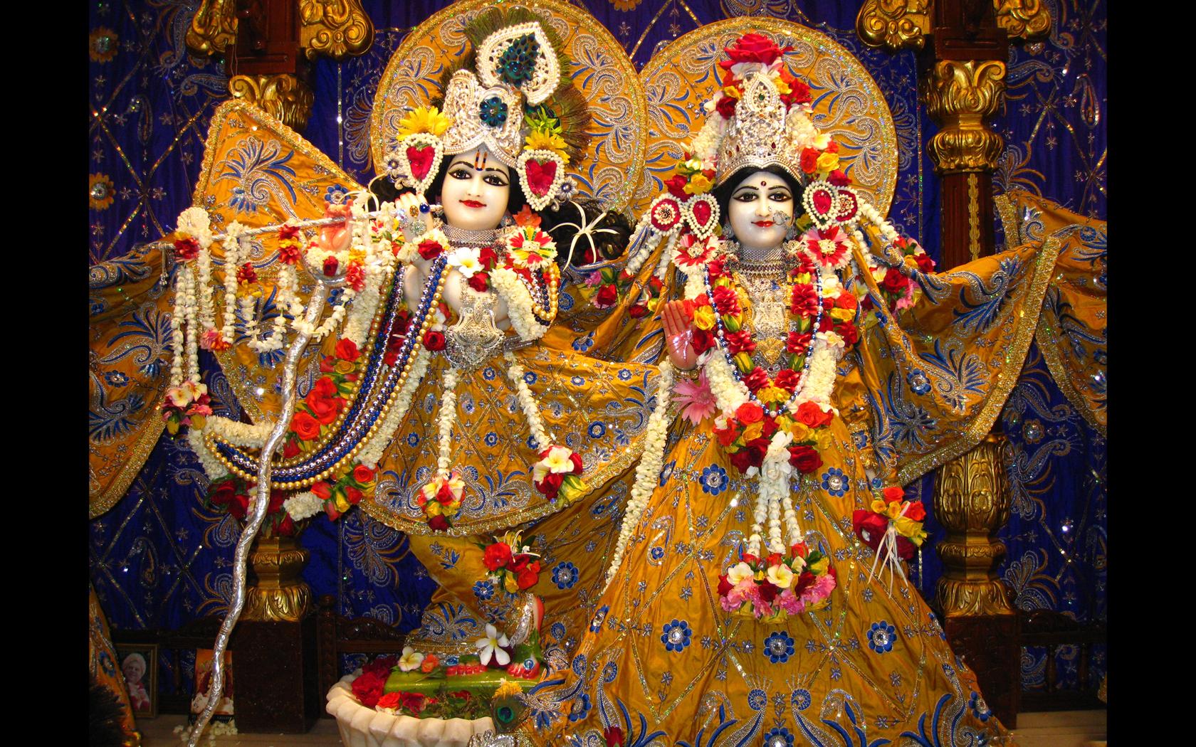 Sri Sri Radha Rasabihari Wallpaper (001) Size 1680x1050 Download