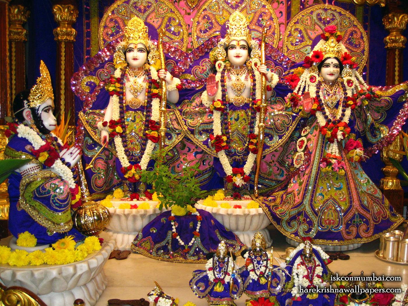 Sri Sri Sita Rama Laxman Hanuman Wallpaper (001) Size 1400x1050 Download