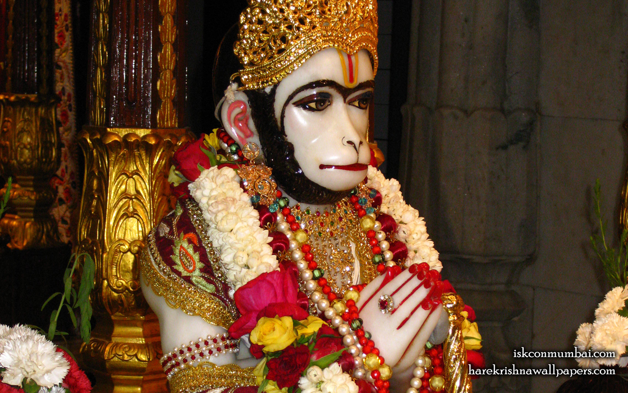 Sri Hanuman Face Wallpaper (002) Size 1280x800 Download