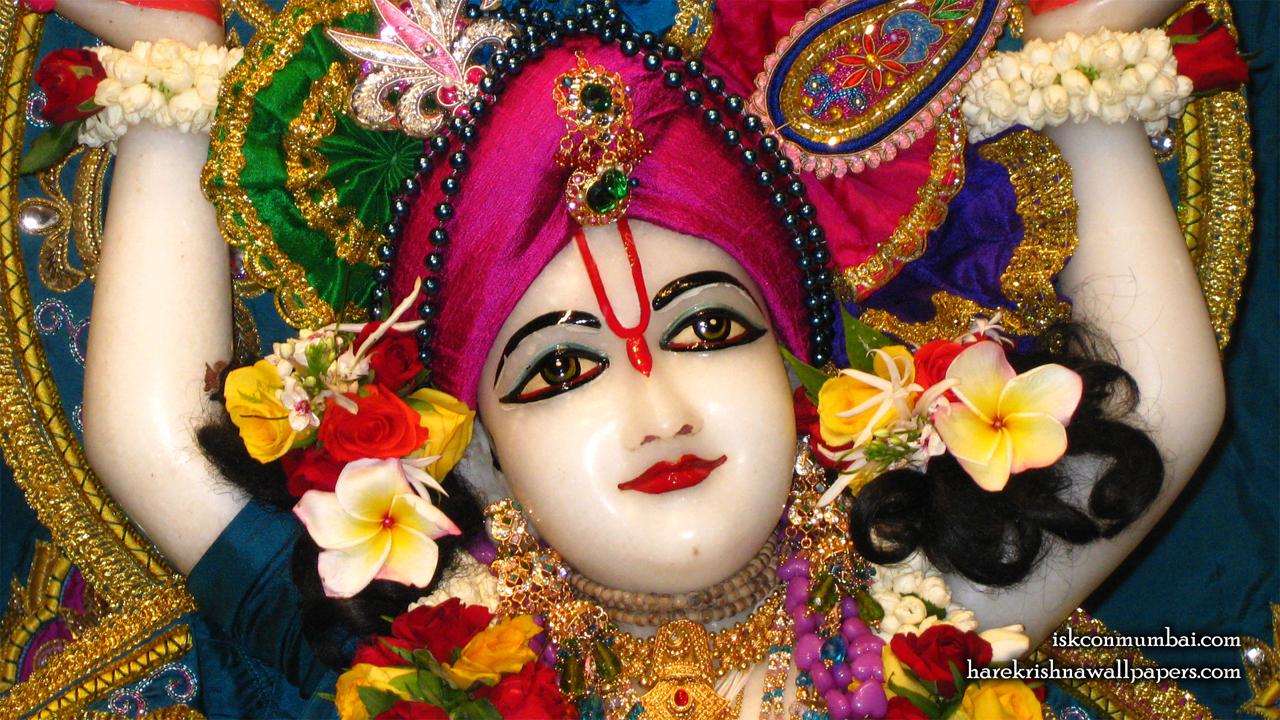 Sri Nitai Face Wallpaper (002) Size1280x720 Download