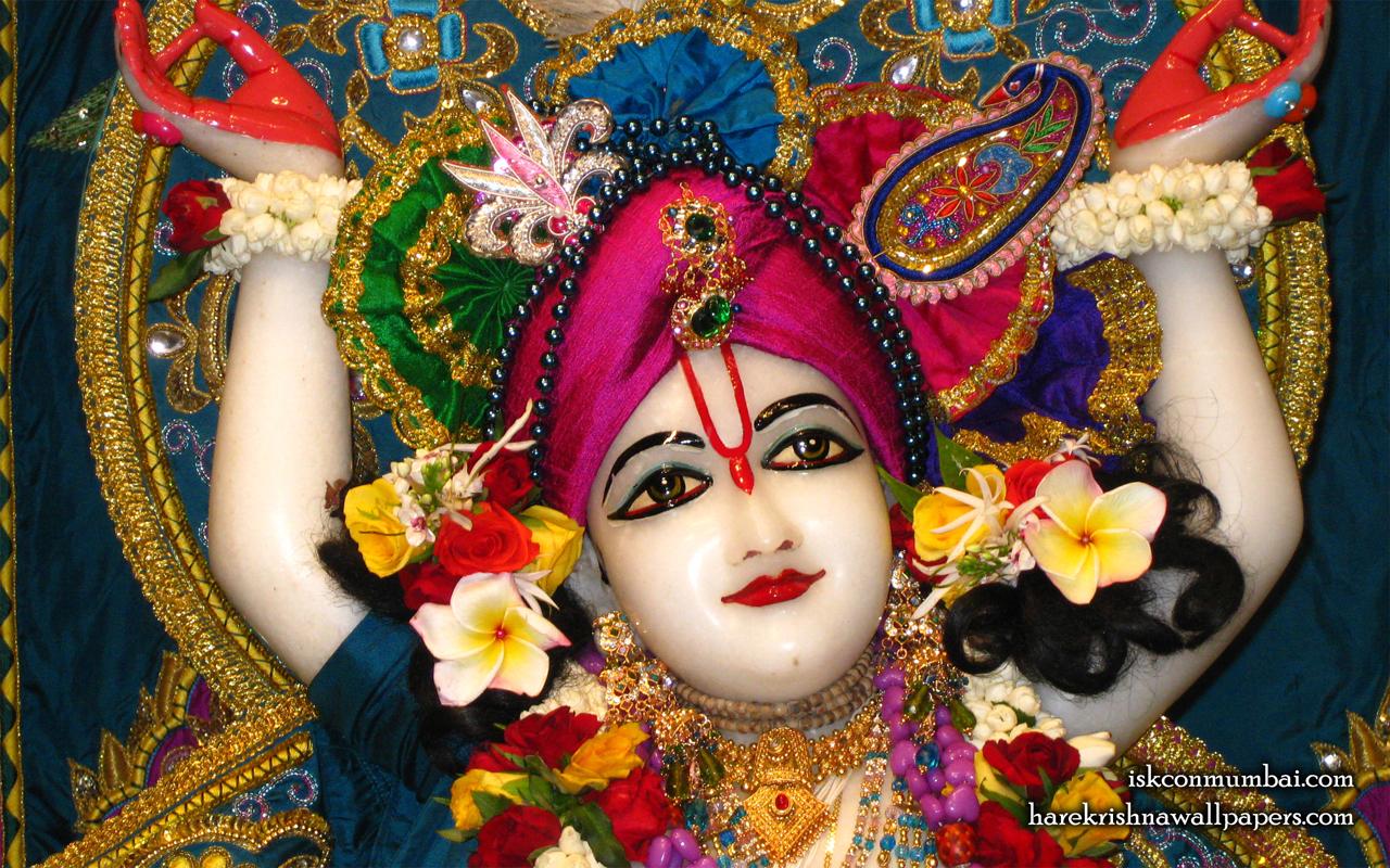 Sri Nitai Face Wallpaper (002) Size 1280x800 Download