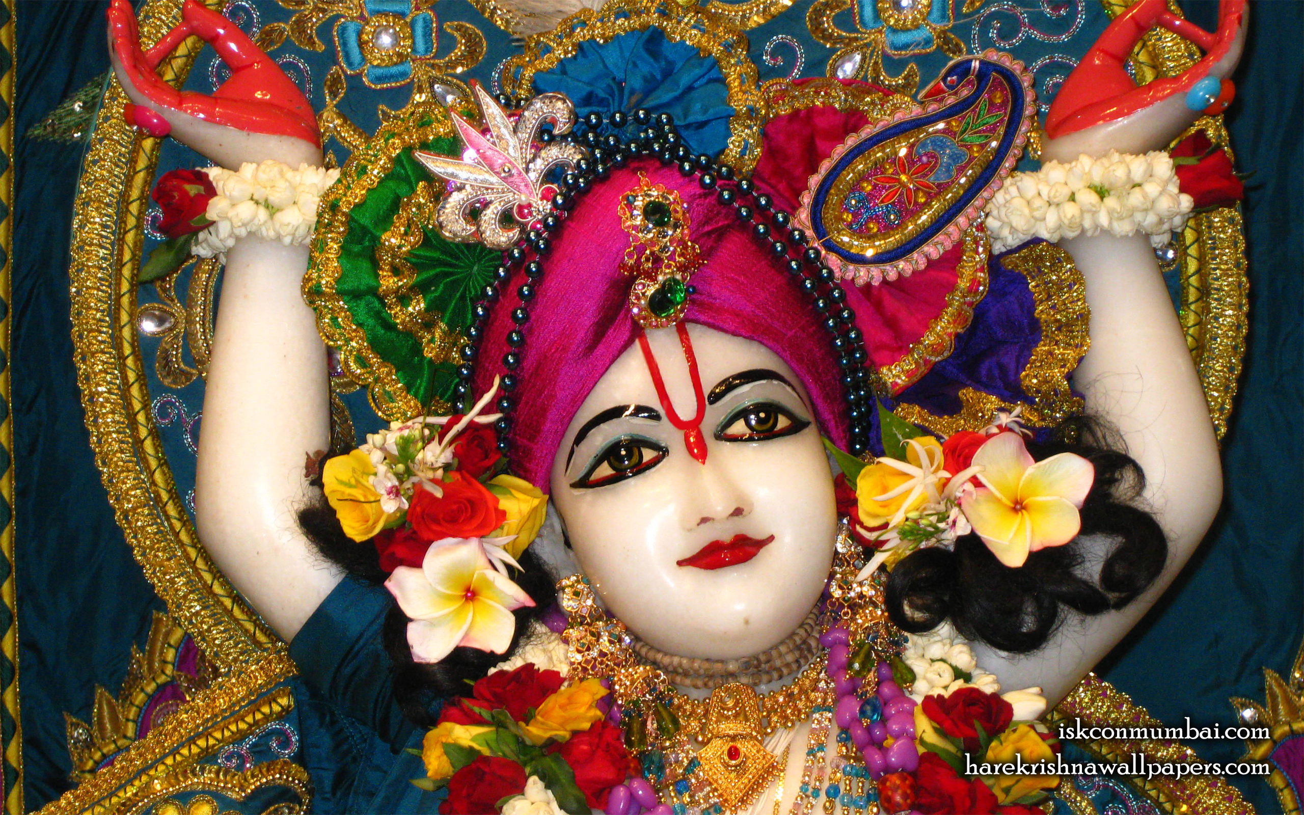 Sri Nitai Face Wallpaper (002) Size 2560x1600 Download