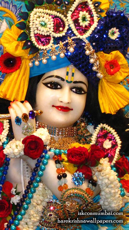 Sri Rasabihari Face Wallpaper (002) Size 450x800 Download