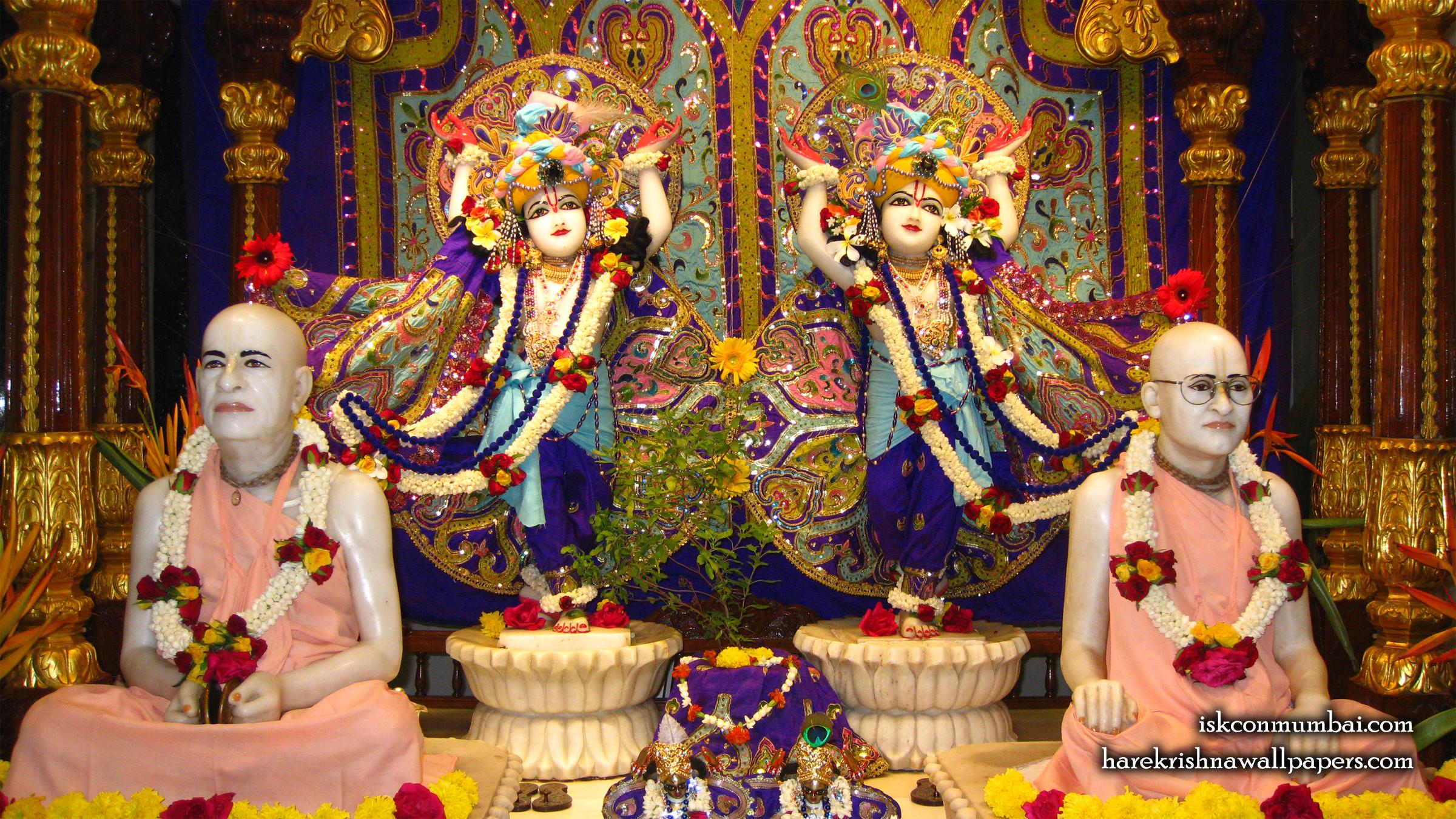 Sri Sri Gaura Nitai Wallpaper (002) Size 2400x1350 Download