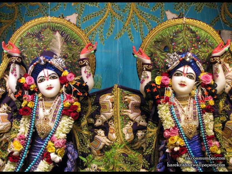 Sri Gaura Nitai Close up Wallpaper (002)