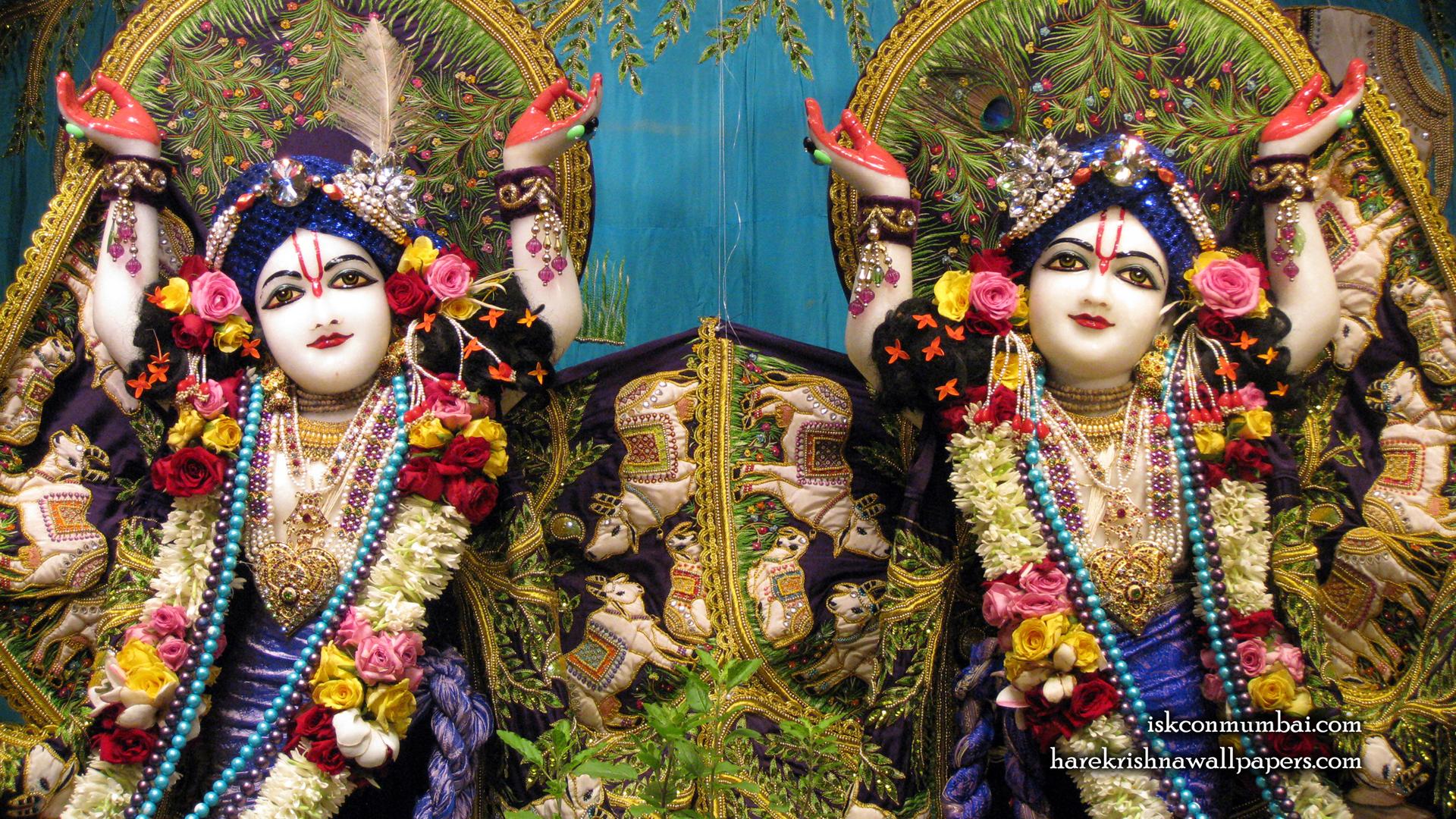 Sri Sri Gaura Nitai Close up Wallpaper (002) Size 1920x1080 Download