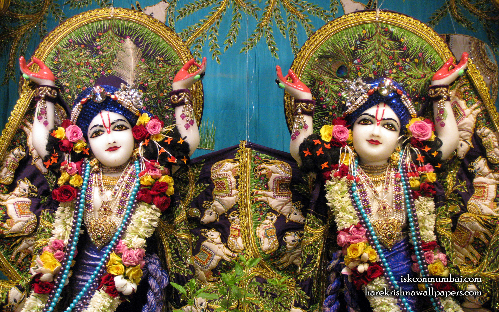 Sri Sri Gaura Nitai Close up Wallpaper (002) Size 1920x1200 Download
