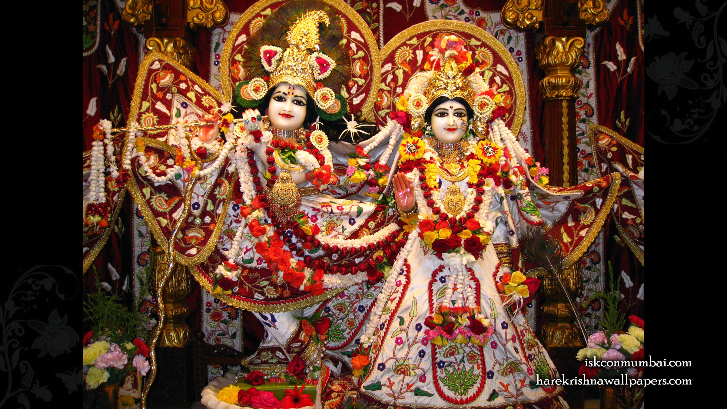 Sri Sri Radha Rasabihari Wallpaper (002) Size 2400x1350 Download